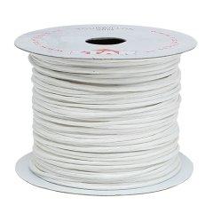 papierdraad 2mm , wit, prijs per 10 meter