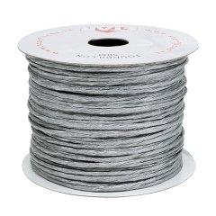 papierdraad 2mm zilver, prijs per meter