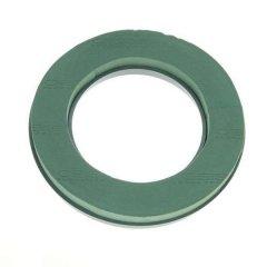 VALENTIJNSAANBIEDING! Oasis naylorbase ring 23cm MET groene schaal als bodem **