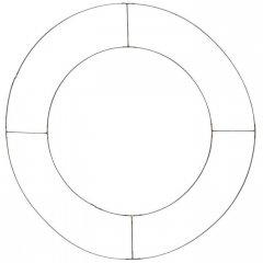 Metalen dubbele ring 50cm