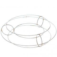 Metalen Tube ring 40cm