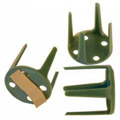 Pinholder plak, 4 stuks, 3cm