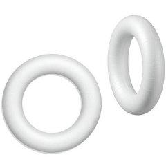 Styropor ring, ROND, 15cm