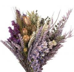 XL Bohemian boeket met lavendel, 60cm