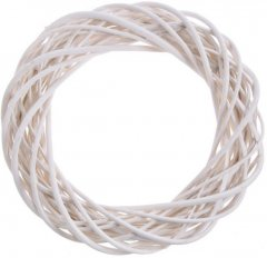 Witte wilgenkrans Ø40cm