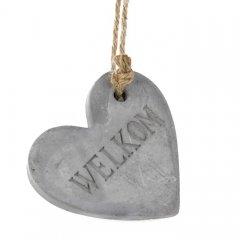 Betonnen hart Welkom, 12cm