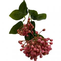 Hortensia knoppen roze, 55cm