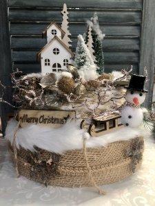 UITVERKOCHT; Pakket; Winterse Kersttaart