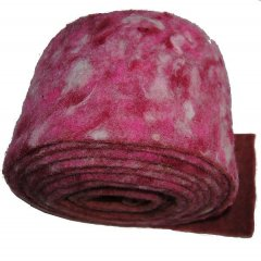 Confetti roze vilt per meter