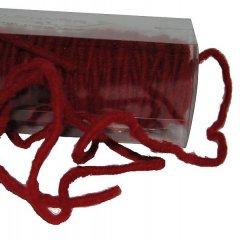 Rood woldraad per meter, 6mm
