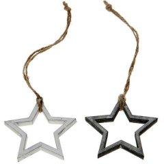 Opengewerkte ster, 6cm
