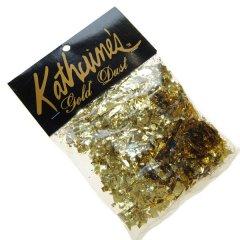 Feestelijke tafelversiering, Gouden glitter, 20 gram