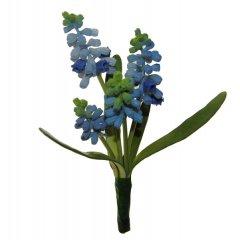 Bundeltje blauwe druifjes, 25cm