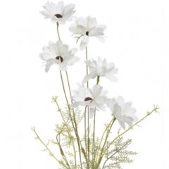Witte chrysanten bos, 50cm