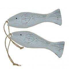 Twee Grijze visjes, 13cm