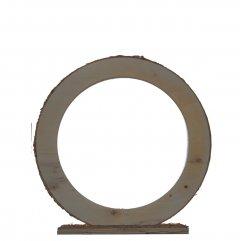 Nog slechts 1 op voorraad1 Houten ring medium staand, 25cm