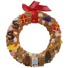 PAKKET, Sinterklaas is jarig en gaat in galop over de daken, 30cm, 30cm