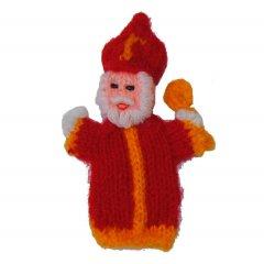 Vingerpopje Sinterklaas, 9cm