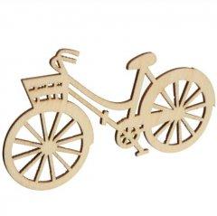 Kleine houten fiets, 6cm