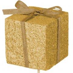 Kado foam glitter goud/ 5cm