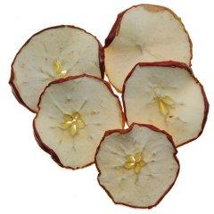 Gedroogde rode appelschijfjes, 10 stuks