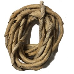 Bananen blad naturel touw bundle 5mtr
