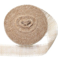 Jute band Naturel, 6cm