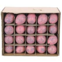 Kwarteleitjes roze