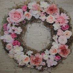 roze bloemenmix zonder tillandsia