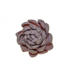 Droogbloem lichtroze gemaakt van bladeren, 6cm
