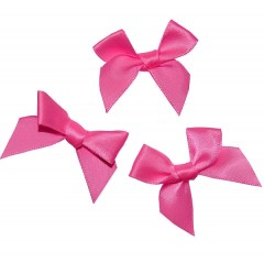 Roze strikjes, 3cm