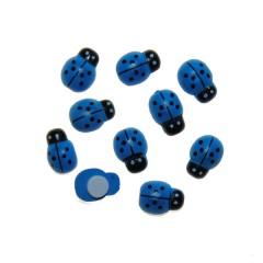Blauwe lieveheersbeestjes, 1,8cm