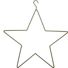Ijzeren ster, ZWART 32cm