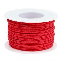 Rood papierdraad, 2mm