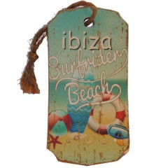 Ibiza Surfrider Beach label, 13cm