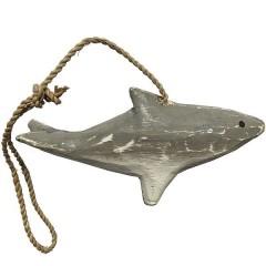 Dolfijn grijs, 11cm