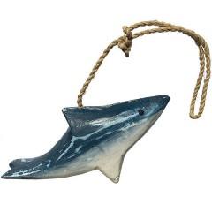 Dolfijn blauw, 11cm