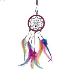 *Kleurige Ibiza dromenvanger, 25cm