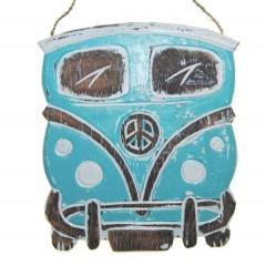 Volkswagswagen bus turquoise, 20cm