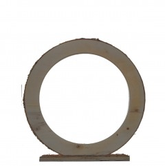 Houten ring medium staand, 25cm