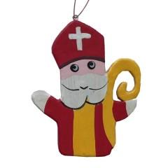 NIEUW! Handgemaakte Sinterklaashanger, 9cm
