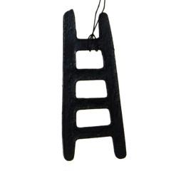 Houten hanger, Laddertje, 8cm