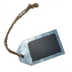 Zinken label, 6x3,5cm