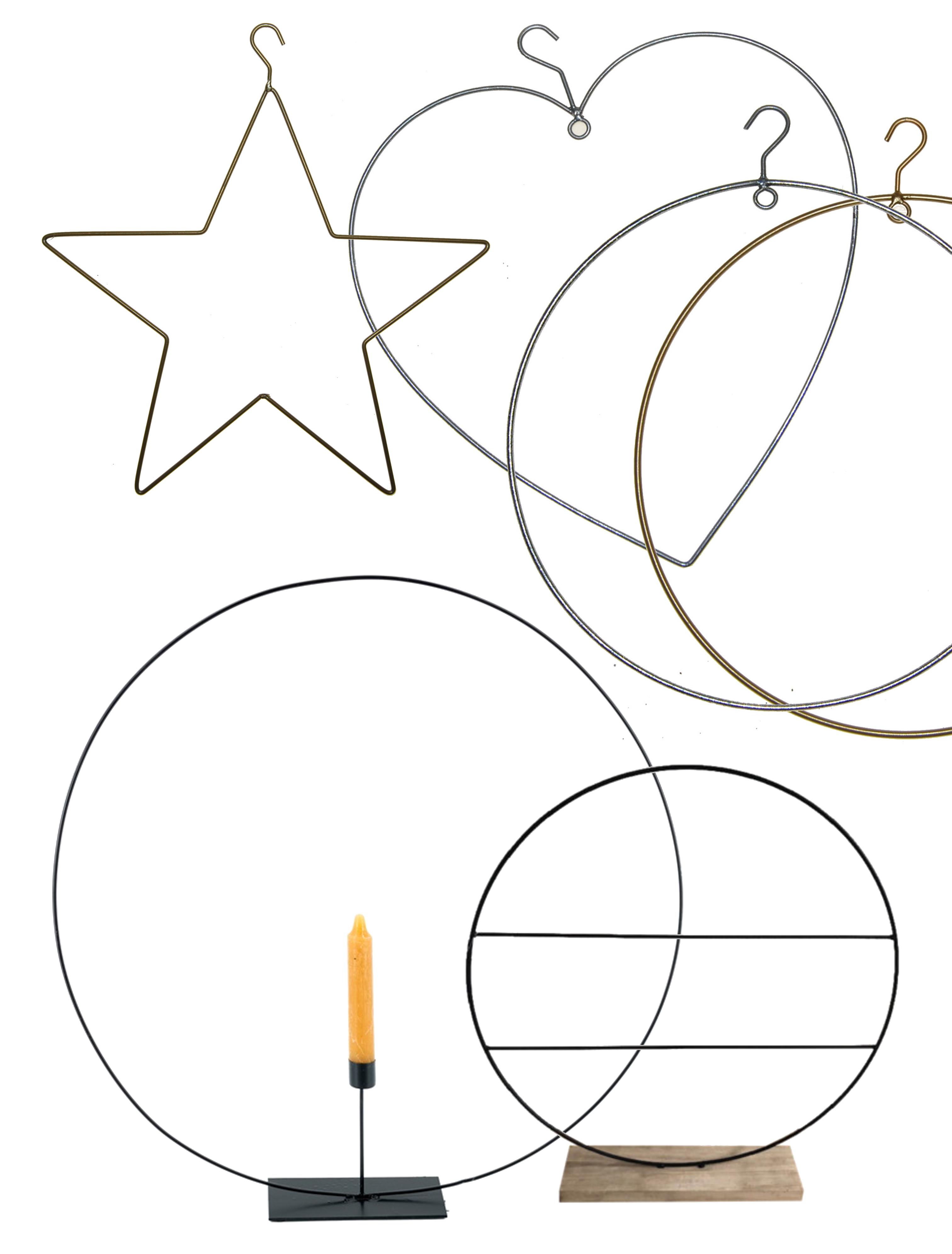Ringen, frames en cirkels