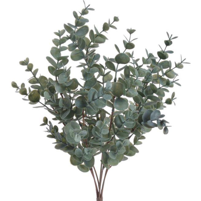 Kunstbloemen en groen