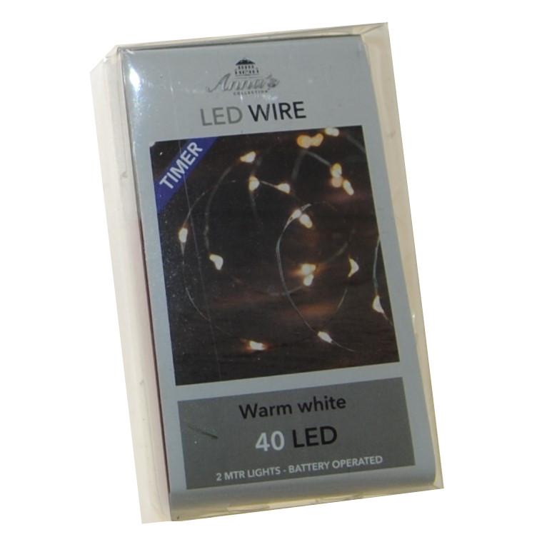 Lichtsnoer LED lampjes, kaarsen en theelichtjes